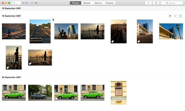 Photos Interface