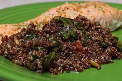 Quinoa and Salmon