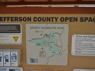 Mt Galbraith Park Trail Head