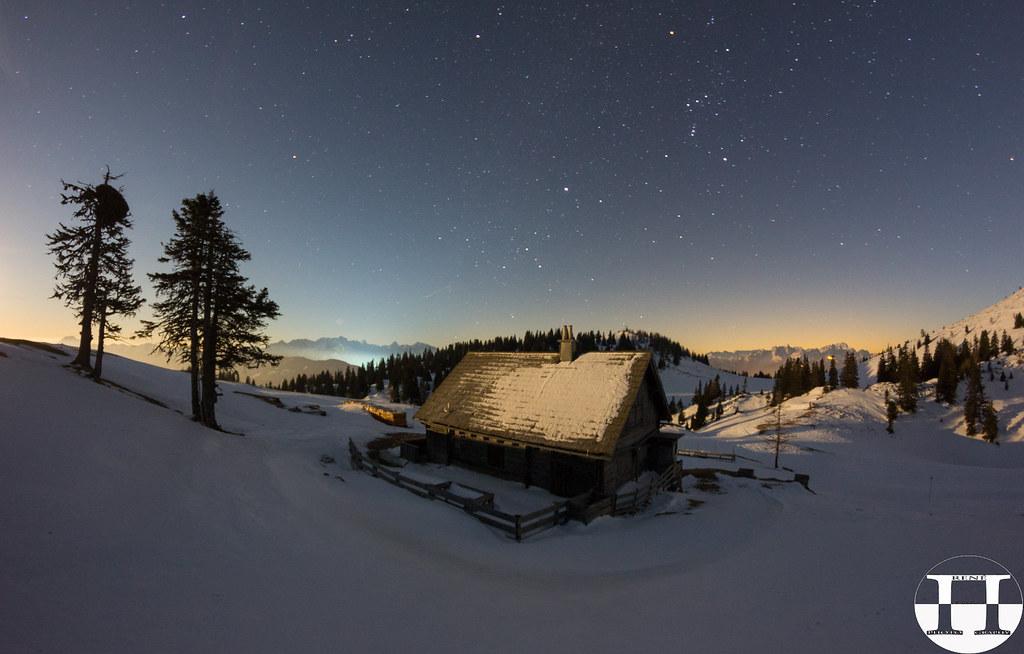 Winter Nights Cottage Mt. Dobratsch
