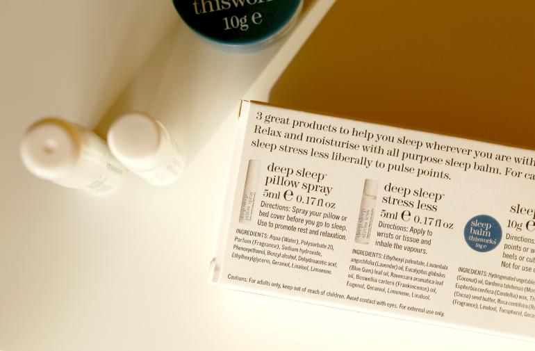 This works deep sleep pillow spray » fashionisaparty.com