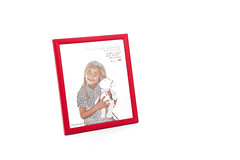 Red Picture Frame Image