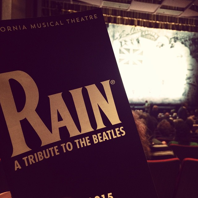 Excited to be here with @joshua300td and his parents! #TheBeatles #Fab4 #LetItBe #RainTribute #AbbeyRoad