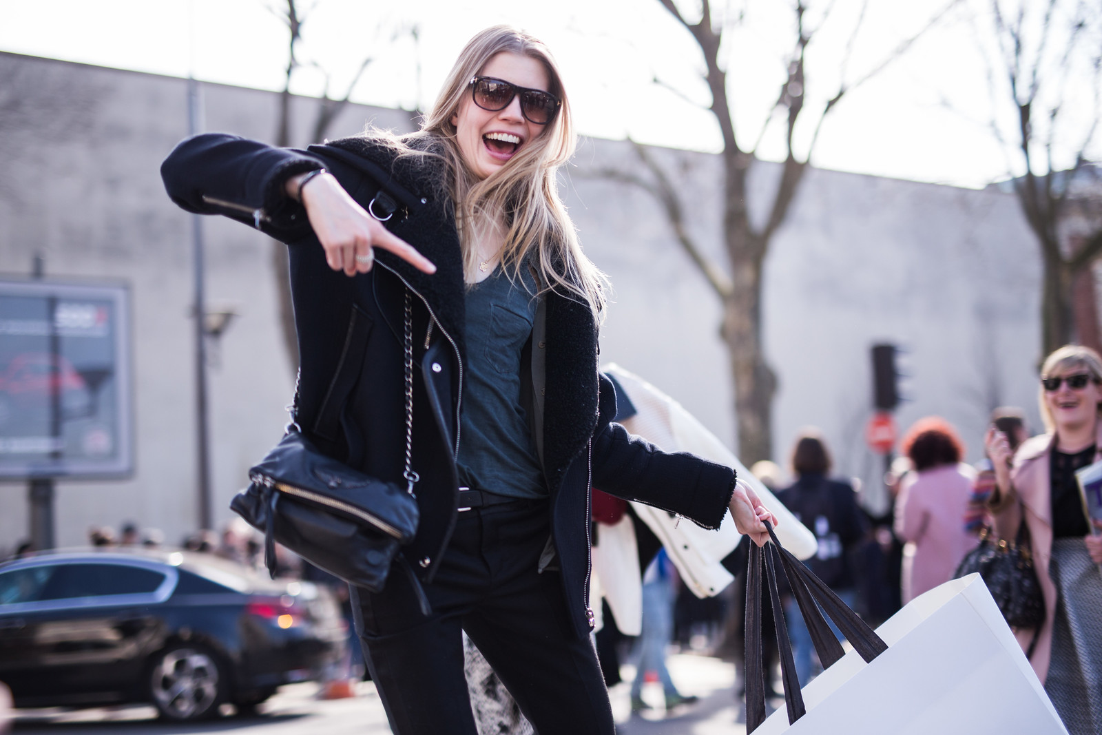 Street Style - Saara Sihvonen, Paris Fashion Week