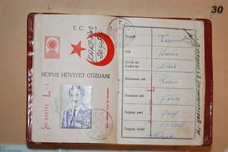 1947 Turkish passport