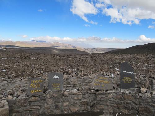 Alentours du Cañon de Colca: le point le plus haut de notre périple, 4910m