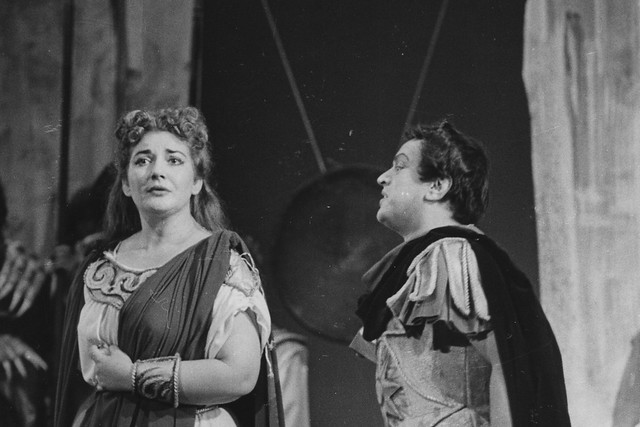 Maria Callas in Norma © 1952 Roger Wood/ Royal Opera House