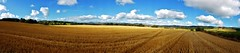 After the harvest at Tough, Aberdeenshire