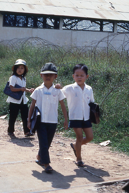 School kids in Bien Hoa