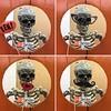 Sheldon the Skeleton Strikes a Pose