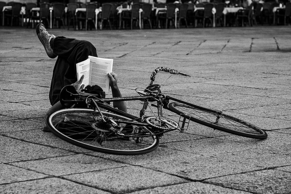 B&B, Books and bikes.