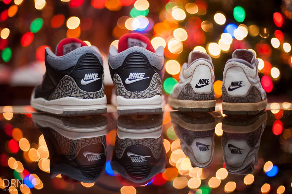 Air Jordan III's.
