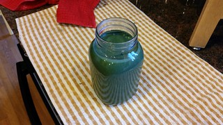 Nutty Nanner Spirulina Smoothie