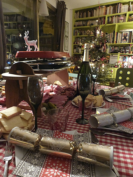 table de la raclette