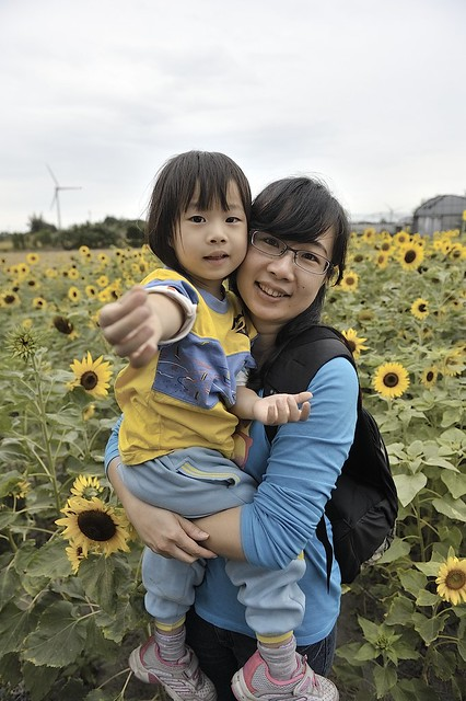 彰師大幼兒園戶外教學 - 向日葵農場