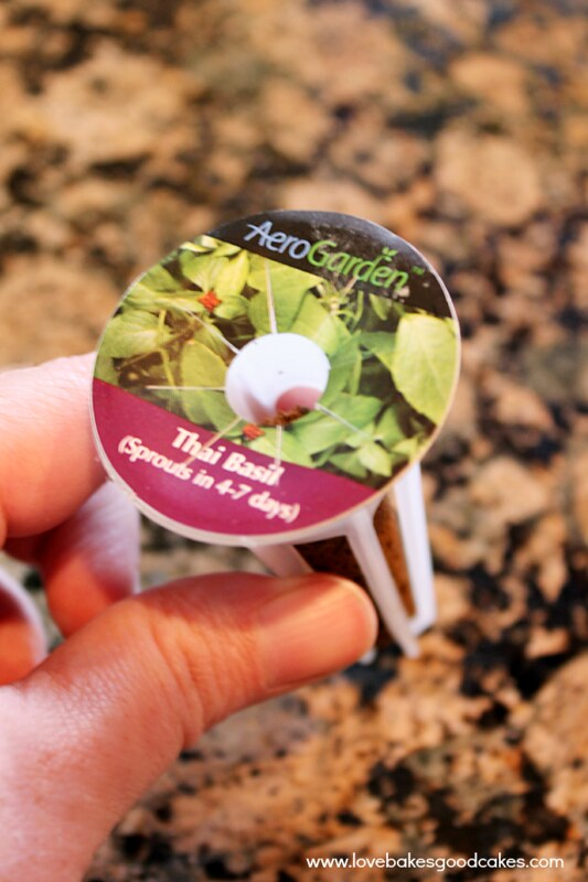 Try indoor herb gardening with the MiracleGro AeroGarden. It makes gardening so simple! Great gift idea too! #AeroGarden #ad