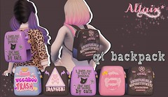 ALTAIR* qt backpacks