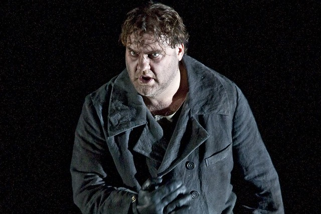 Bryn Terfel as The Dutchman in Tim Albery's production of Der fliegende Holländer © ROH.Clive Barda, 2009