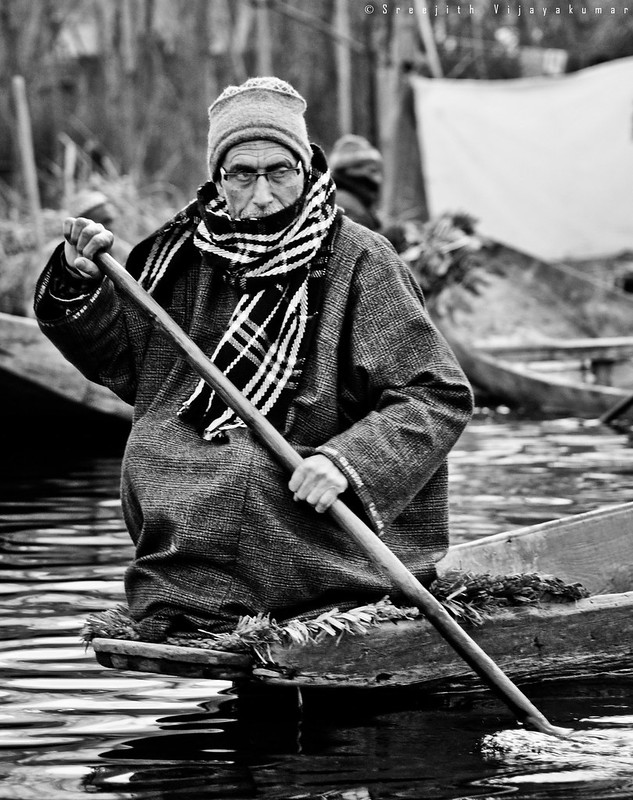 Floating market, Kashmir