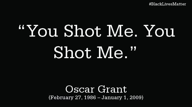 You Shot Me. You Shot Me.