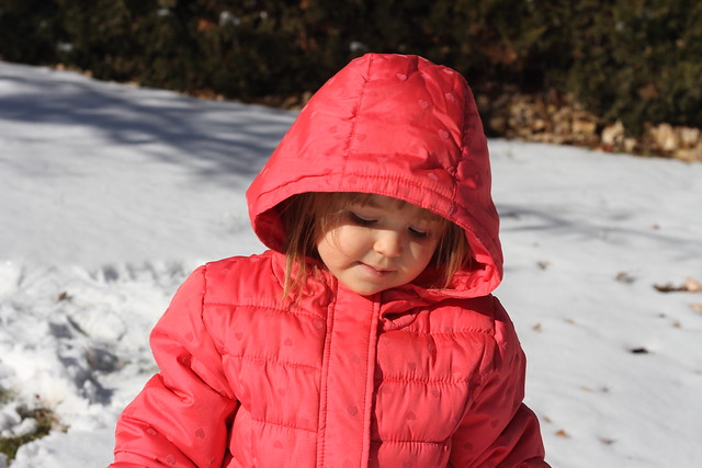 Elise in snow