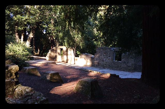 Ruins of Henry Miller, the Cattle King's, summer house.