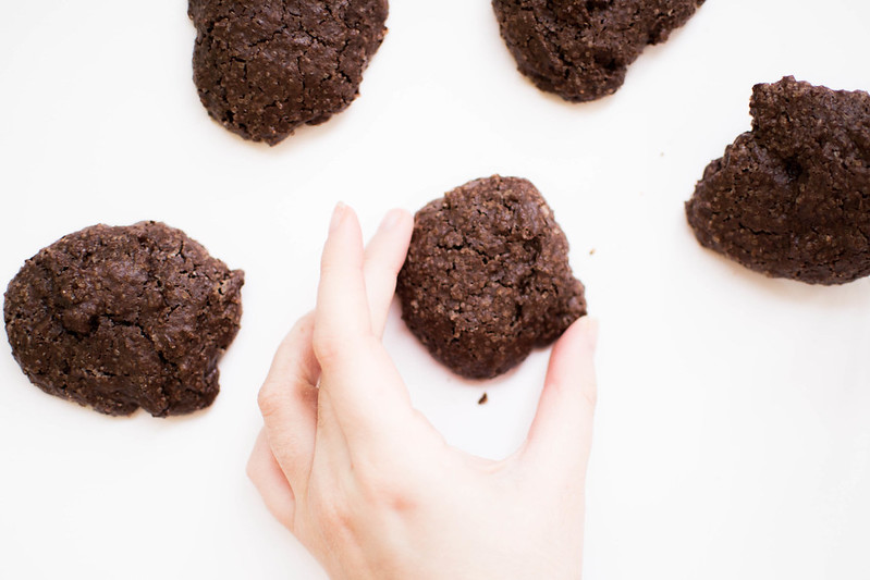Peanut Butter + Cocoa Cookies