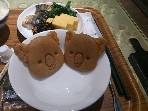 Koala pancakes for BREAKFAST!