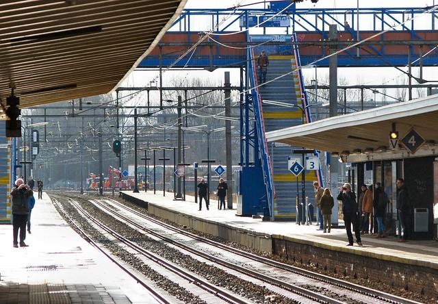 20150221 Delft - laatste dag bovengronds spoor