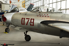124079 - 124079 - Chinese Air Force - Mikoyan-Gurevich MIG-15bis - The Museum Of Flight - Seattle, Washington - 131021 - Steven Gray - IMG_3445