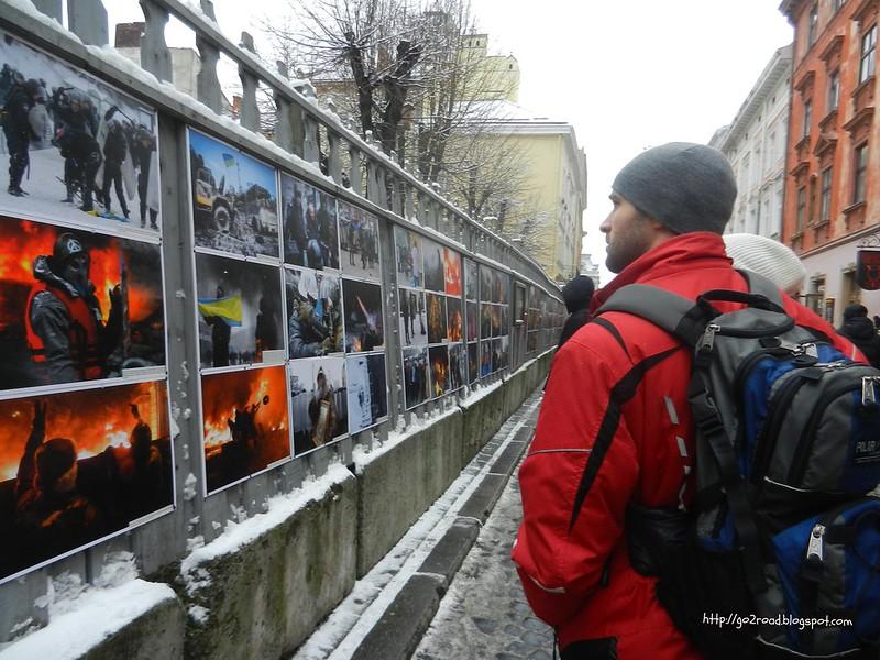 Майдан в фотографиях во Львове