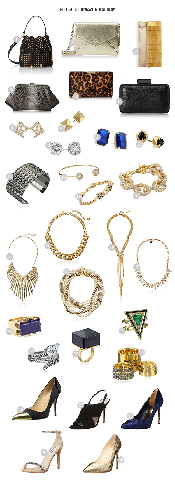 Gift-Guide, Elle, Amazon-Fashion, Holiday2014
