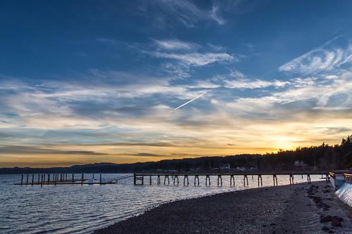 winter sunset beach canon landscape pier washington unitedstates silverdale kitsapcounty dyesinlet tamron2875mmf28 silverdalewaterfrontpark canon6d canoneos6d