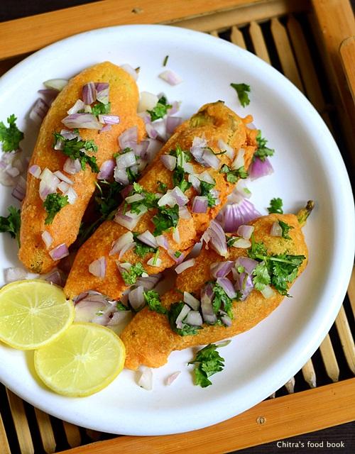 Andhra mirapakaya bajji recipe