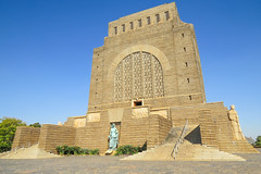 Voortrekker Monument from side