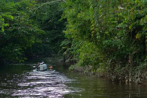 lake ecuador stream wildlife center napo oxbow interpretation anangu