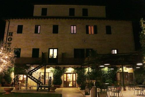 Bagno Vignoni: hotel Le Terme