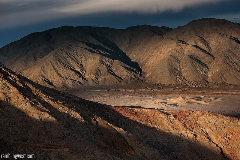 The Panamint Dunes