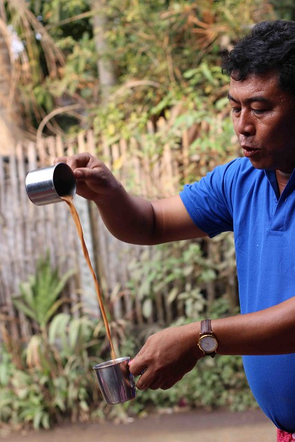 making myanmar tea