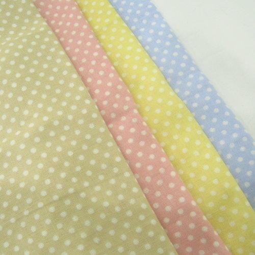 點點雙層紗 水玉圓點 二重紗 嬰兒紗布衣  手帕 口水巾 布料 雙重紗 雙層紗 CA1200005