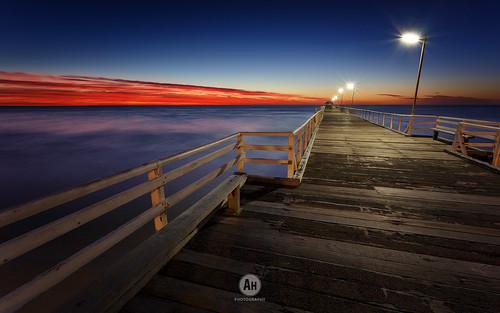 ocean longexposure sunset sea sky seascape beach water landscape oz jetty tide australia southern coastal nd sa australien southaustralia henley 2015 canon6d