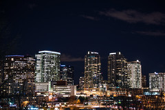 Bellevue by night