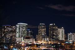 Bellevue by night