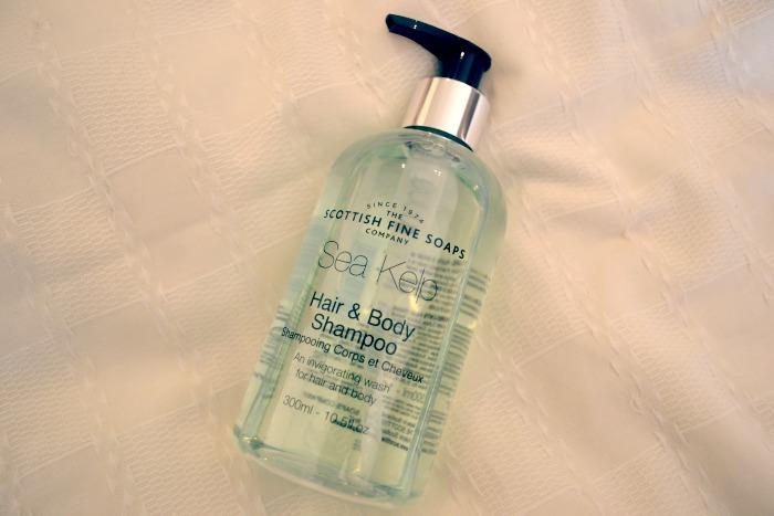 scottish fine soaps sea kelp shampoo