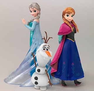 Figuarts ZERO Frozen Special Box 冰雪奇緣 特別盒裝組合