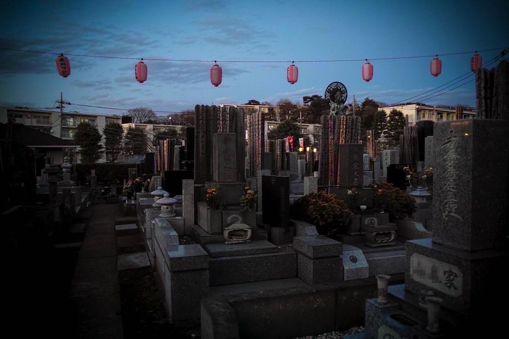 お墓の中のおおくら大仏