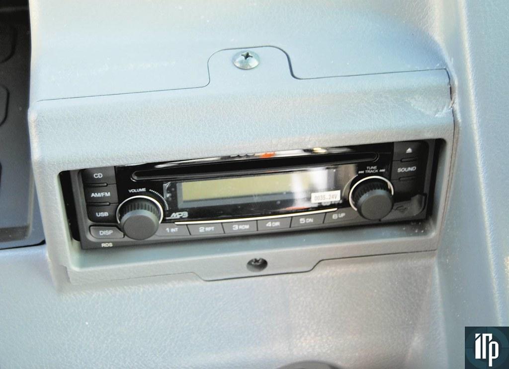 Штатная магнитола Doosan DX225 поддерживает USB