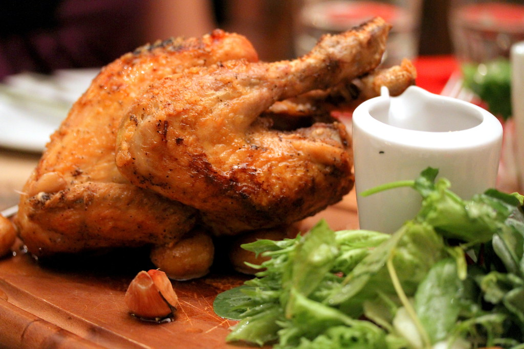 Shelter in the Woods' Roasted Chicken