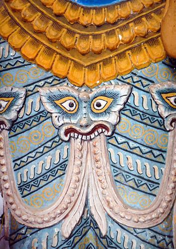 Detail of Statue at Ananda Temple in Bagan, Myanmar