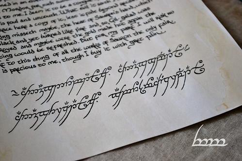 Scroll of Isildur
